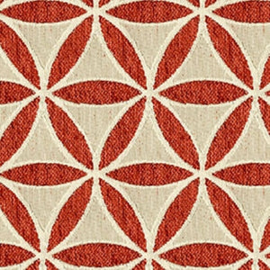Turnbow Upholstery Fabric Chenille Geometric Design Woven Jacquard 6 Colors
