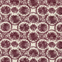 Load image into Gallery viewer, Eiffel Botanical Circles Upholstery Fabric Woven Jacquard Clear Out Special 3 Colors