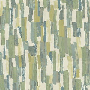 Dart Upholstery Fabric Contemporary Brushstroke Design Woven Jacquard 4 Colors