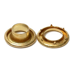 Grommets - Cruiser Spur Brass Grommet and Washer Sizes from #1 - #3 Pack of 100