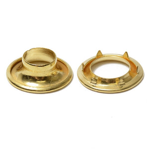 Grommets - Osborne Spur Brass and  Nickle Plated from Size #0 - #4 for 1 Gross (144 pcs)