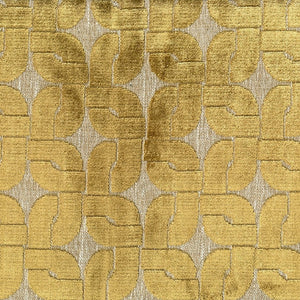 Oasis Upholstery Fabric Geometric Woven Velvet Jacquard Fabric 4 Colors