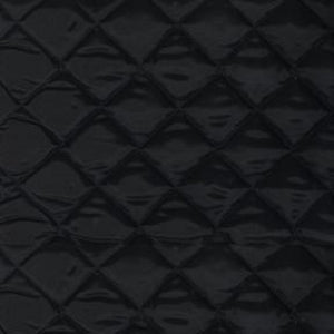 "Jacket Liner 9009 Black Quilted Nylon 2"" x 2"" Diamonds 58"" Wide"