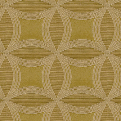 Kismet 5009 Gold Drapery Fabric Woven Jacquard Clear Out Special