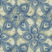 Load image into Gallery viewer, Maribel Upholstery Fabric Medallion With Marbleized Effect Woven Jacquard 6 Colors