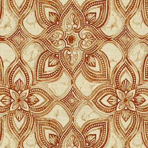 Maribel Upholstery Fabric Medallion With Marbleized Effect Woven Jacquard 6 Colors