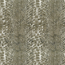 Load image into Gallery viewer, Buckley Upholstery Drapery Fabric Snake Skin Pattern With Glitz  3 Colors