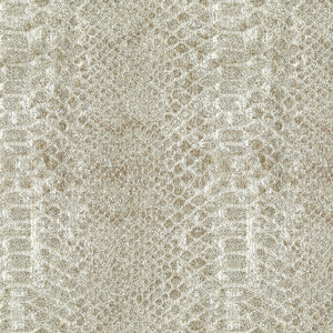 Buckley Upholstery Drapery Fabric Snake Skin Pattern With Glitz  3 Colors