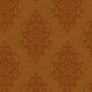 Ornamental Crypton Green Upholstery Fabric Damask Pattern Contract Rated 4 Colors