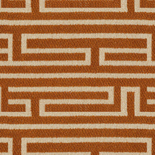 Load image into Gallery viewer, Pathway Upholstery Fabric Geometric Maze Formation Woven Jacquard 5 Colors