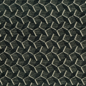 Deflect Upholstery Fabric Geometric Woven Jacquard  7 Colors