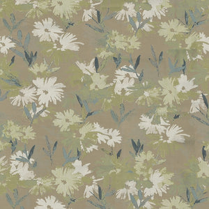 Olivia Upholstery Fabric Woven Jacquard Floral Pattern 4 Colors