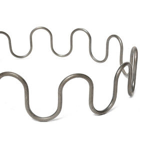 "No Sag Zig Zag Seat Springs 8 Gauge 24"" Long  Sofa Chair Springs Pack of 10 Springs"