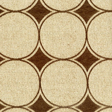 Load image into Gallery viewer, Highlight Upholstery Fabric Modern Geometric Chenille Woven Jacquard 6 Colors