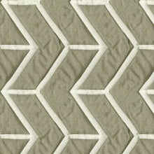 Load image into Gallery viewer, Amos Upholstery Fabric Quilted Jacquard with Chevron Pattern 5 Colors