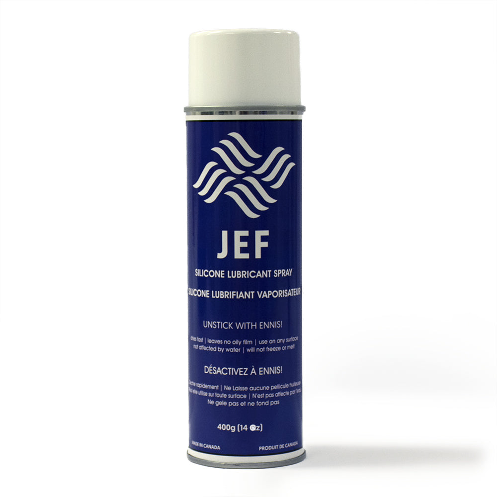 Jef Spray Silicone Lubricant 14 oz. Can