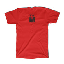 "Load image into Gallery viewer, ""READ"" Tee - Youth & Adult - Red / Black"