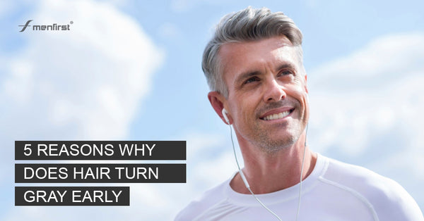 5 reasons to hair turn white early in men