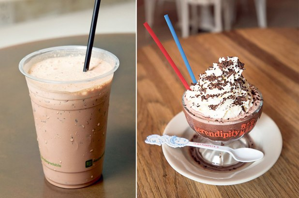 SKIP SERENDIPITY THE NEXT TIME YOU WANT A FROZEN HOT CHOCOLATE