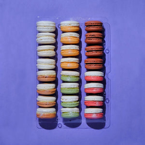 Load image into Gallery viewer, Cheesecake Macarons - 24 piece