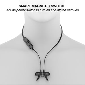 MAG – Bluetooth Stereo Earphones with Smart Magnetic Switch System Plus Remote Shutter - Bluetooth Earphones - jabeesstore - jabeesstore