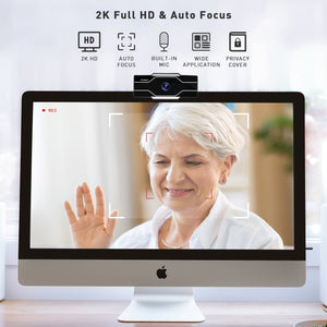 Beecam - 2K High Definition Webcam Lifestyle Jabees Store