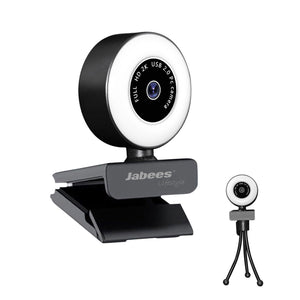 Beecam Ring with Ring Light - 2K High Definition Webcam Work From Home Jabees Store