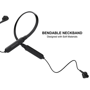 Bluetooth 5.0 Neckband Headphones With Dual Drivers