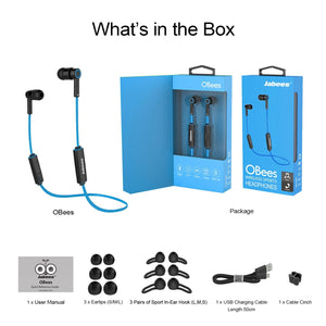 OBees – Bluetooth Sport Headphones Featuring 'Balanced by Design' - Bluetooth Earphones - jabeesstore - jabeesstore