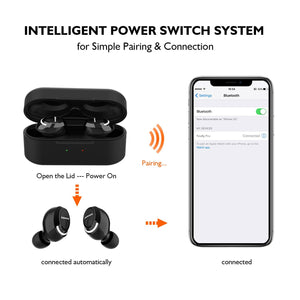 Firefly Pro - True Wireless Earbuds Featuring Fast Charging & Qi-Enabled Wireless Charging Case - True Wireless Earbuds - Jabees Store - jabeesstore