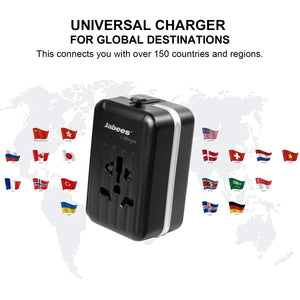 TCM1 Universal Travel Adapter - Power - Jabees Store - jabeesstore