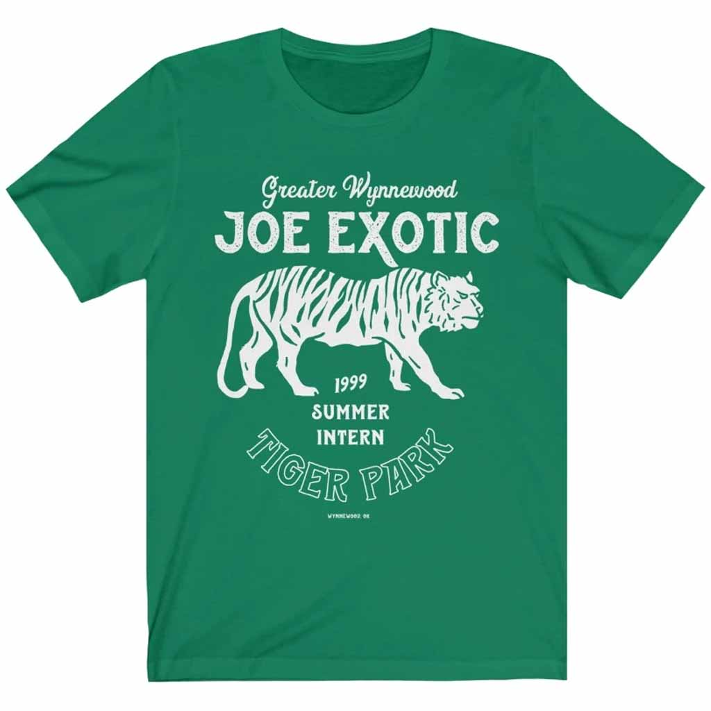 Joe Exotic Tiger Park Vintage Intern Unisex T-shirt