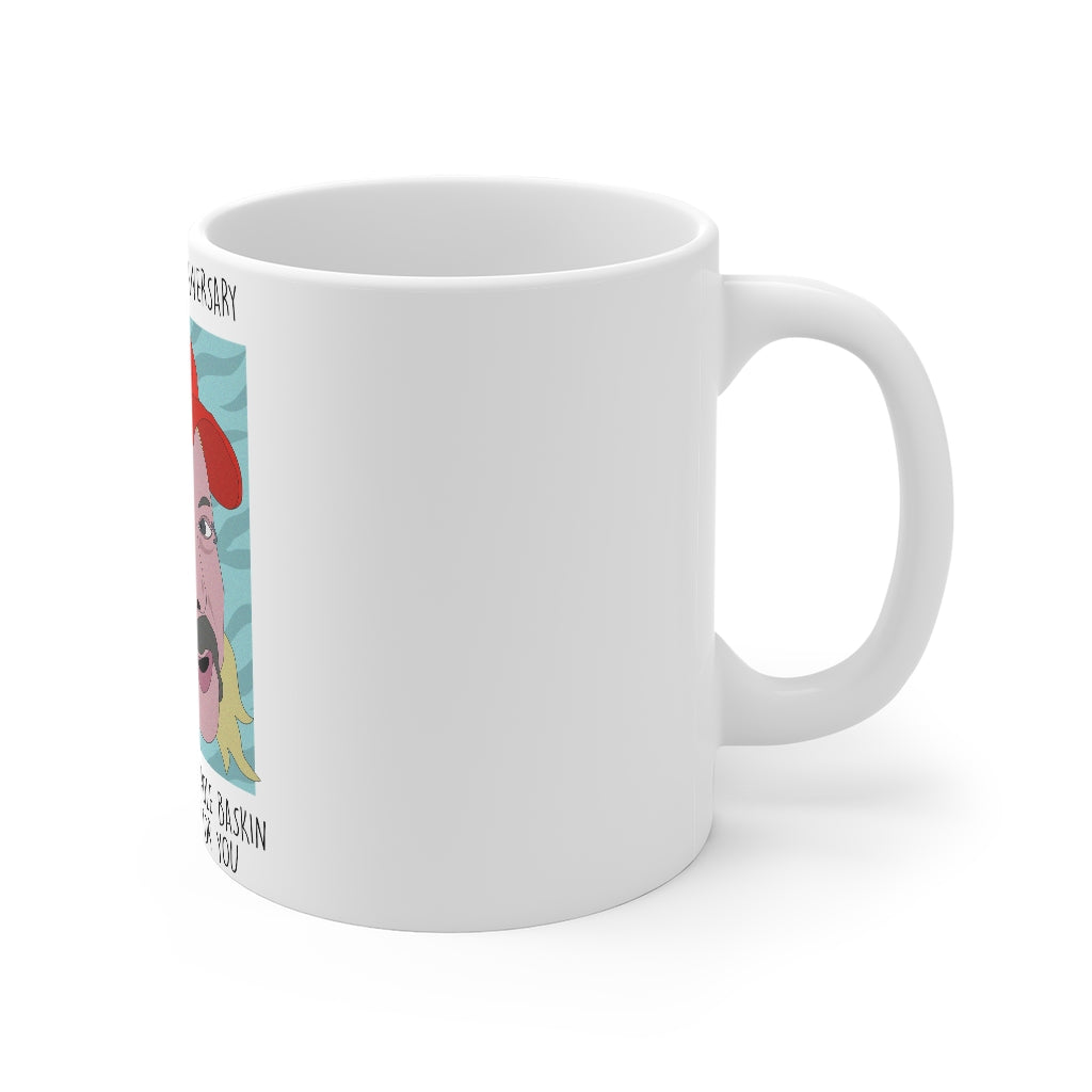 Have an Exotic Anniversary 'Tiger King' Anniversary Gift Mug