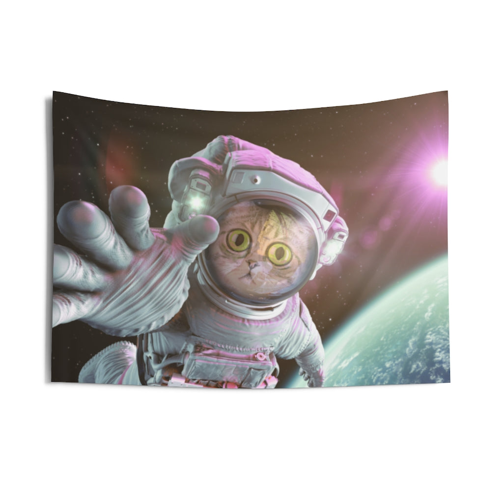 Castronaut Personalized Wall Tapestry
