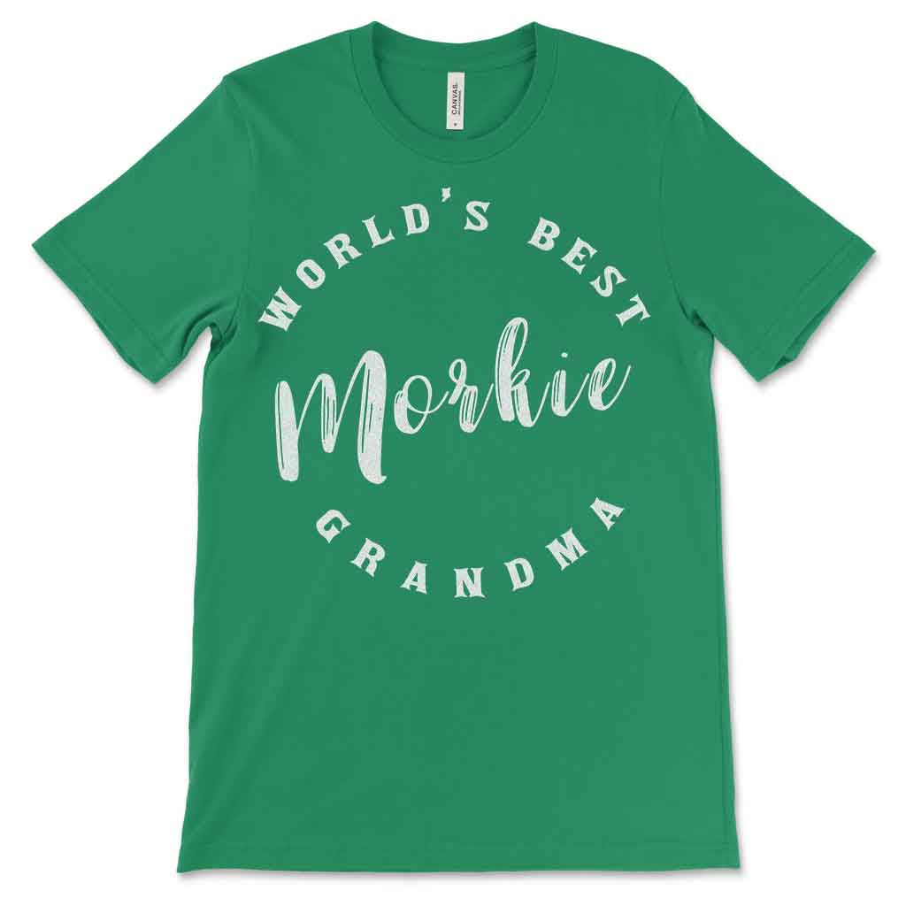 World's Best Morkie Grandma Women's T-Shirt