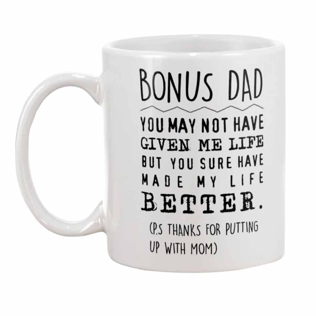 Bonus Dad Step Dad Father's Day Mug
