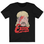 Bowie Joe Exotic Retro Unisex T-shirt