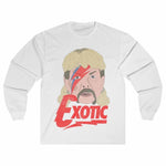 Bowie Joe Exotic Retro Unisex Long Sleeve T-Shirt