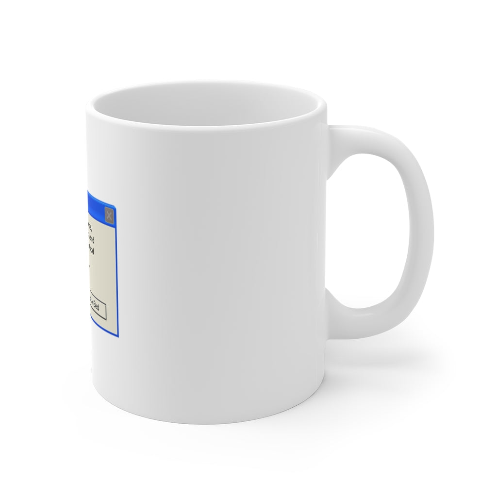 Windows Error Message Anti-Social Gift Mug