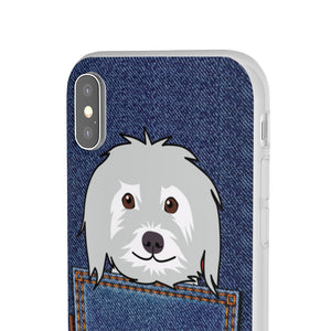 Yorkie iPhone Case, Yorkie iPhone Case, Gift for Yorkie / Morkie Mom, Jeans Pocket Yorkshire Terrie / Morkie iPhone Case