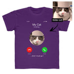 Kids Unisex Custom Cat iPhone T-Shirt