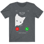 Men's / Women's iPhone Cat Calling T-shirt