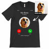 Men's / Women's Personalized iPhone Dog T-Shirt