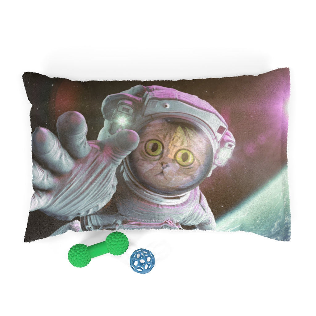 Catstronaut Personalized Pet Bed