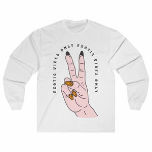 Joe Exotic Vibes Only Unisex Long Sleeve T-shirt