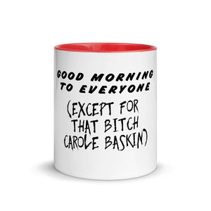 Carole Baskin Good Morning Mug