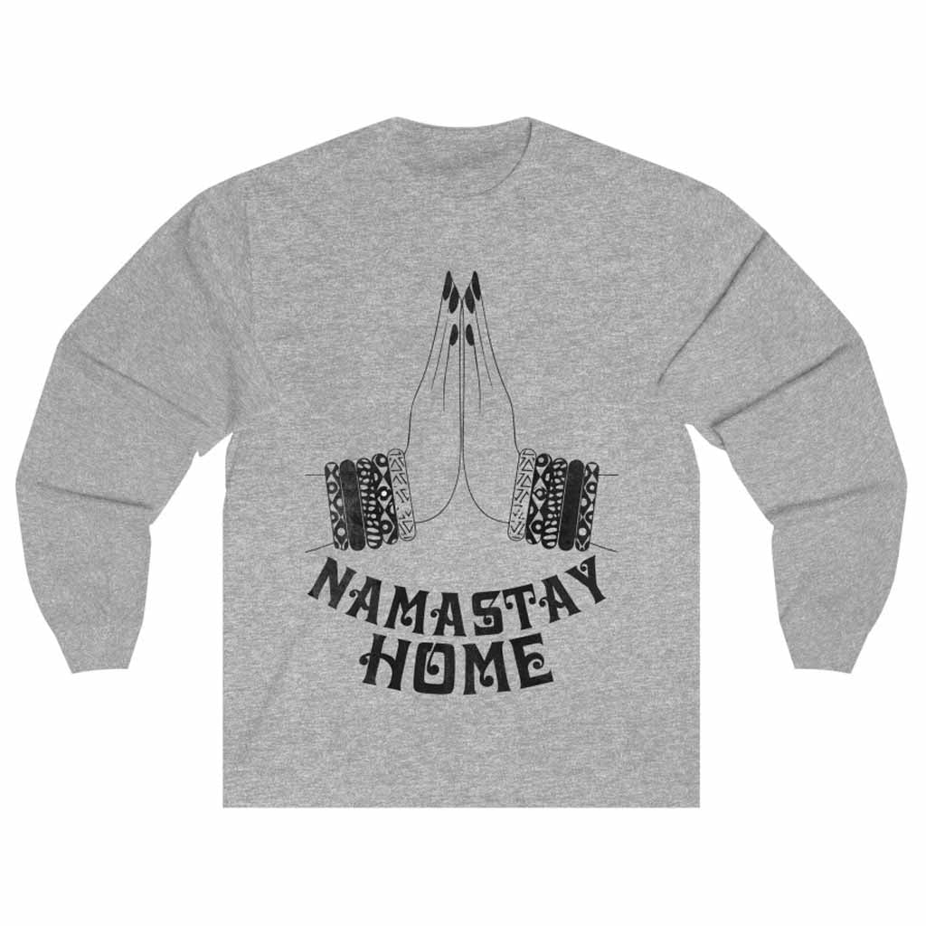 Namaste Home Unisex Long Sleeve T-shirt