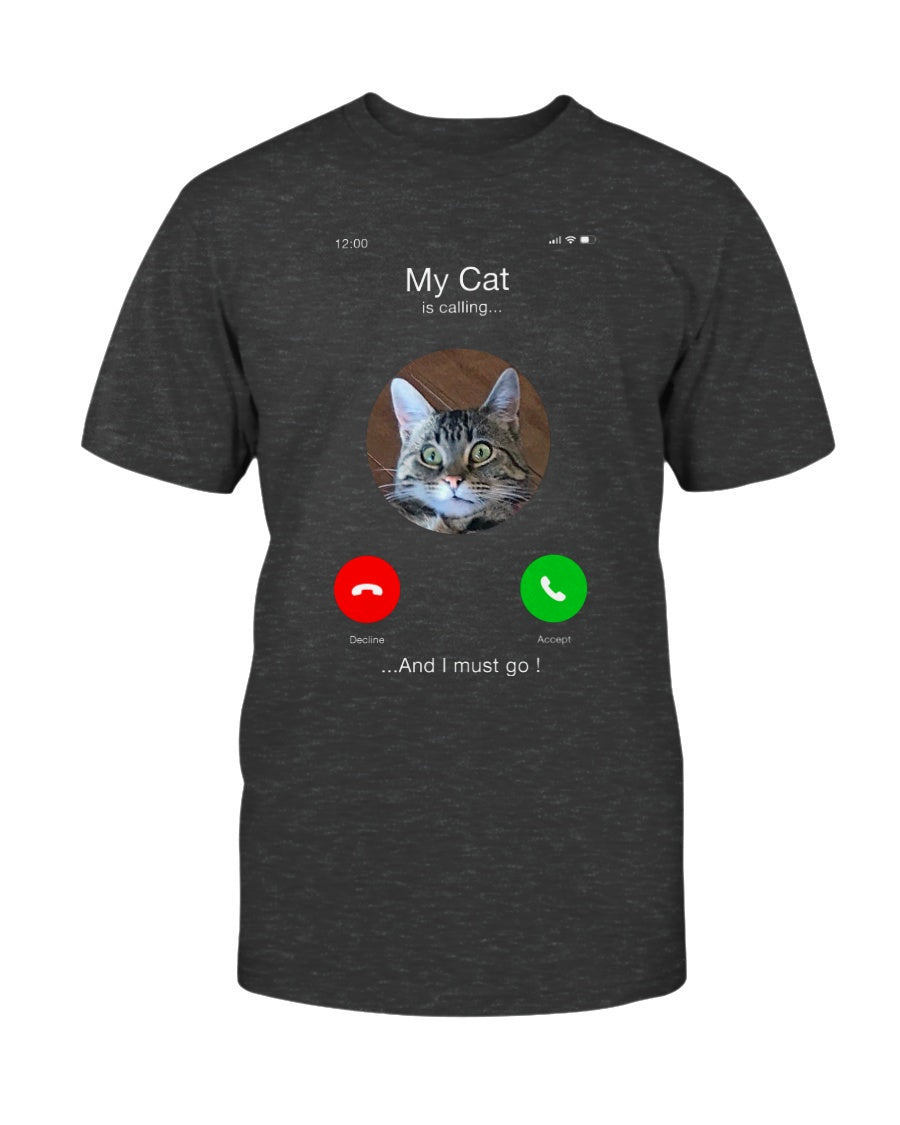 Cat is Calling Customer Joy Gent