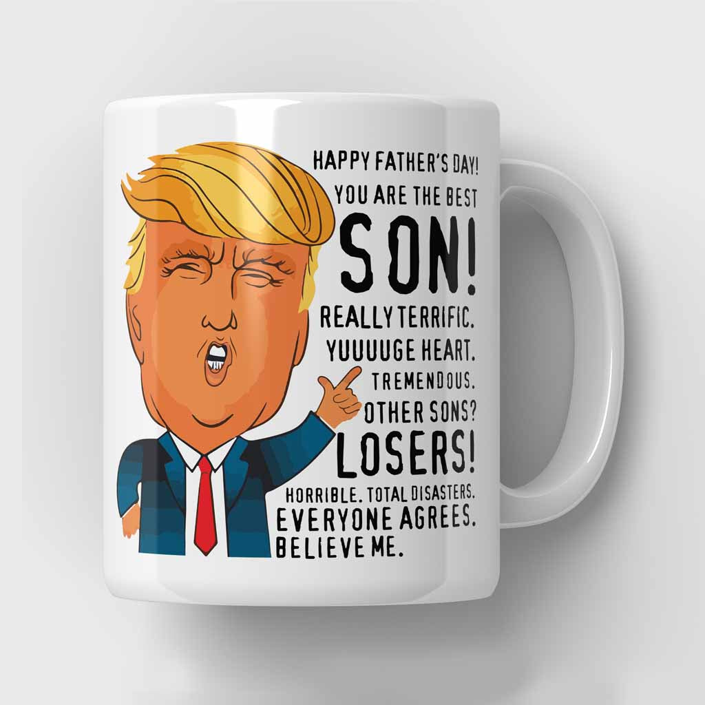Best Son Trump Father's Day Mug