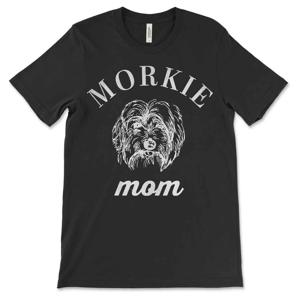 Morkie Mom Vintage Women's T-Shirt